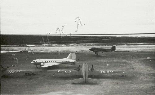 21 ЭОН 66 1957 Кресты колымские Н-527 Ли-2 Н-549 Ли-2 Н-580 Ли-2 Н-625 Ил-14  копия.jpg
