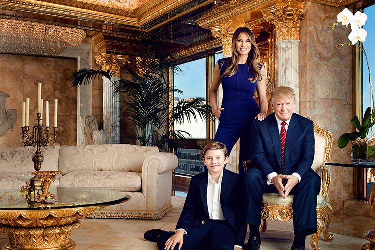 Даже не знаем, как же теперь господин Трамп будет переезжать из своего любимого золотого пентхауса.