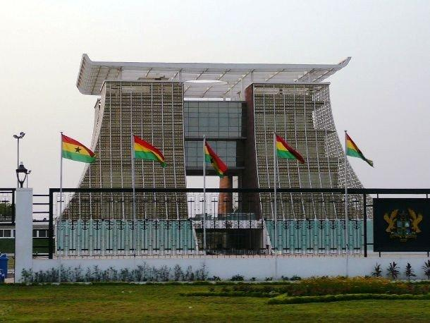 9. Флагстафф Хаус, Гана С ноября 2008 года Флагстафф Хаус значится, как президентский дворец в Аккре