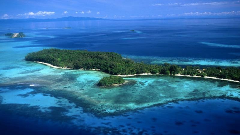 Самый большой необитаемый остров в южной части Тихого океана занимает участок суши площадью 118 кв.к