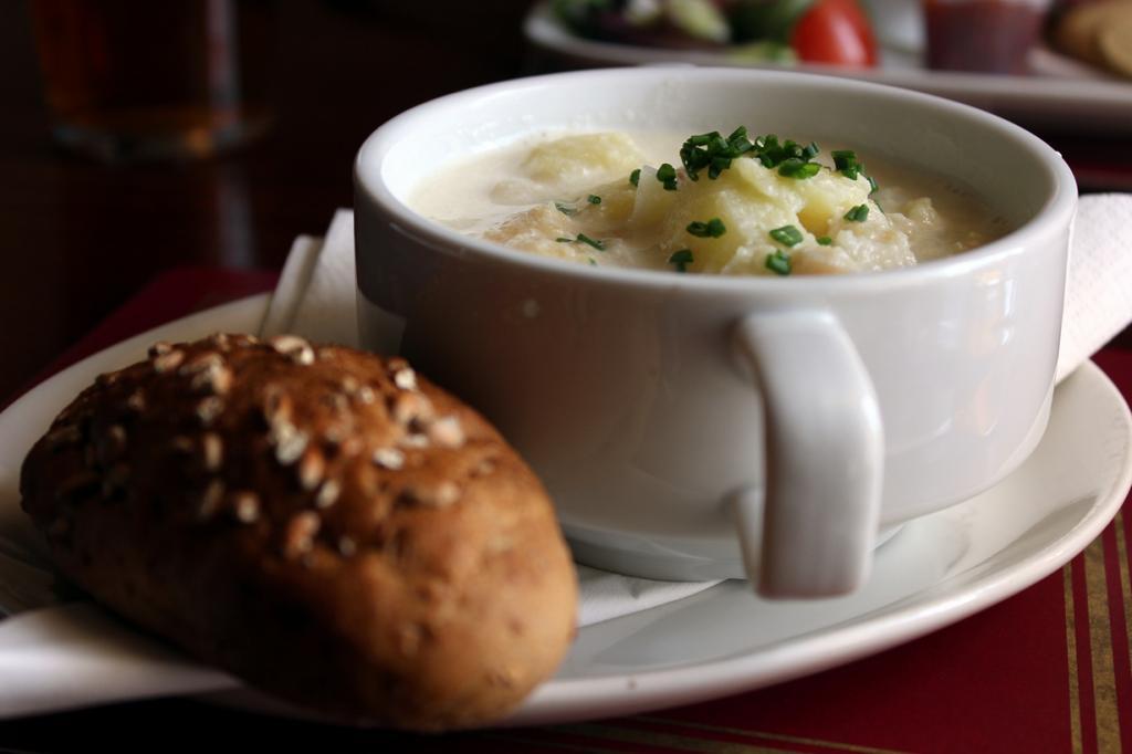 Рыбный суп Cullen Skink. (Metukkalihis)