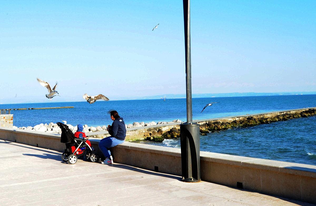 22. Сочетание моря, ветра, сосен и песка создает в Градо уникальный микроклимат, который очень полез