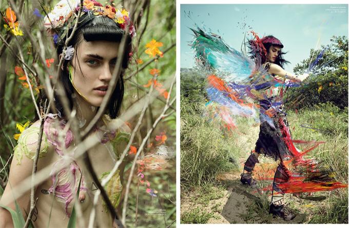 Сара Браннон в Vogue Ukraine