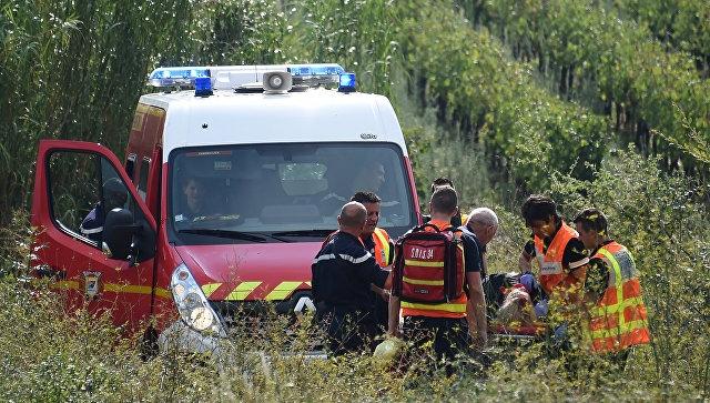 Число пострадавших при трагедии поезда воФранции выросло до 60 человек