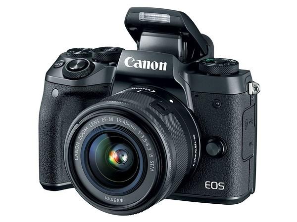 Canon EOS M5— беззеркальная камера сматрицей APS-C иэлектронным видоискателем