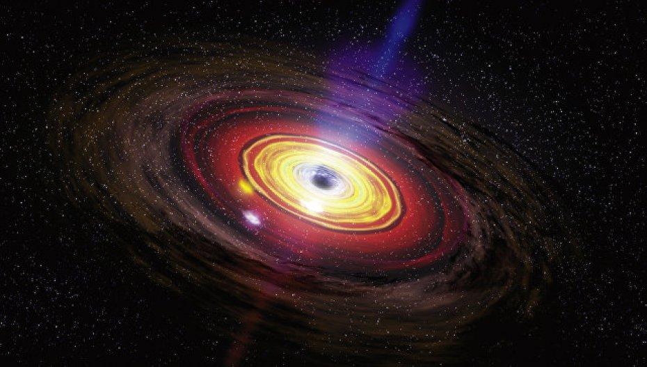 Ученые обнаружили «временной туннель» вцентре Млечного пути