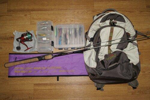 снаряжение для похода на рыбалку