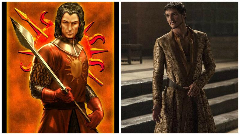 Принц Оберин Мартелл по прозвищу Красный Змей