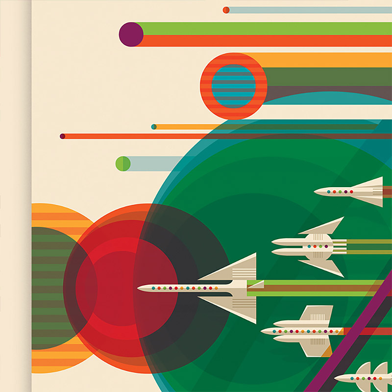 NASA Posters by Invisible Creature Seattle-based design studio Invisible Creature created these fant