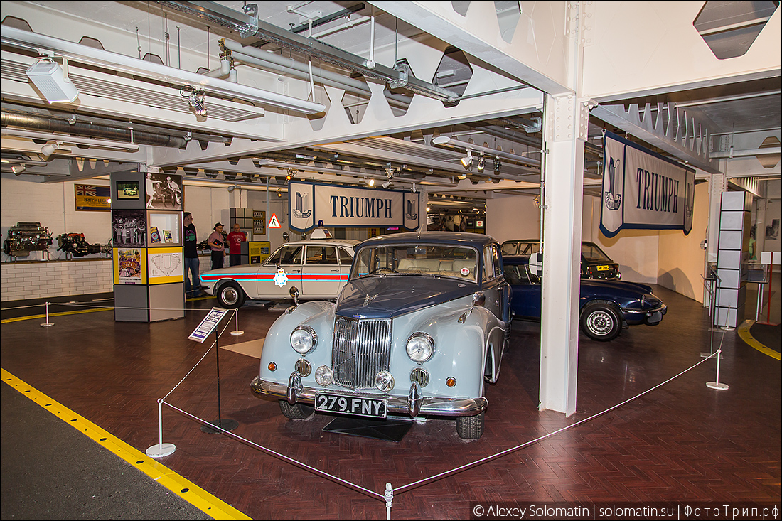 Транспортный музей в Ковентри