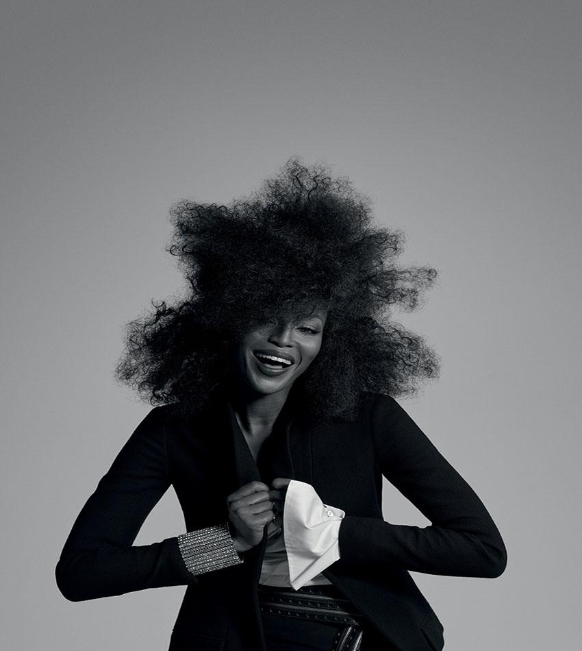 Naomi Campbell by Gui Paganini - Vogue Brasil (2016)