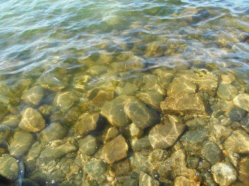 Прозрачность мартовской спокойной воды Азовского моря ... DSCN1280.JPG