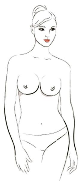 9 типов женской груди - Круглые