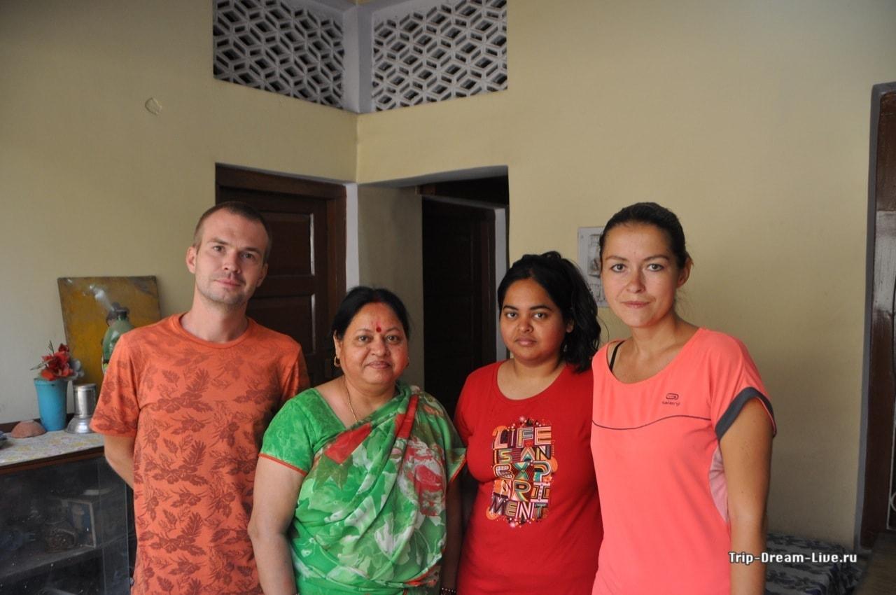 Фото с мамми и сестрой Анниндии