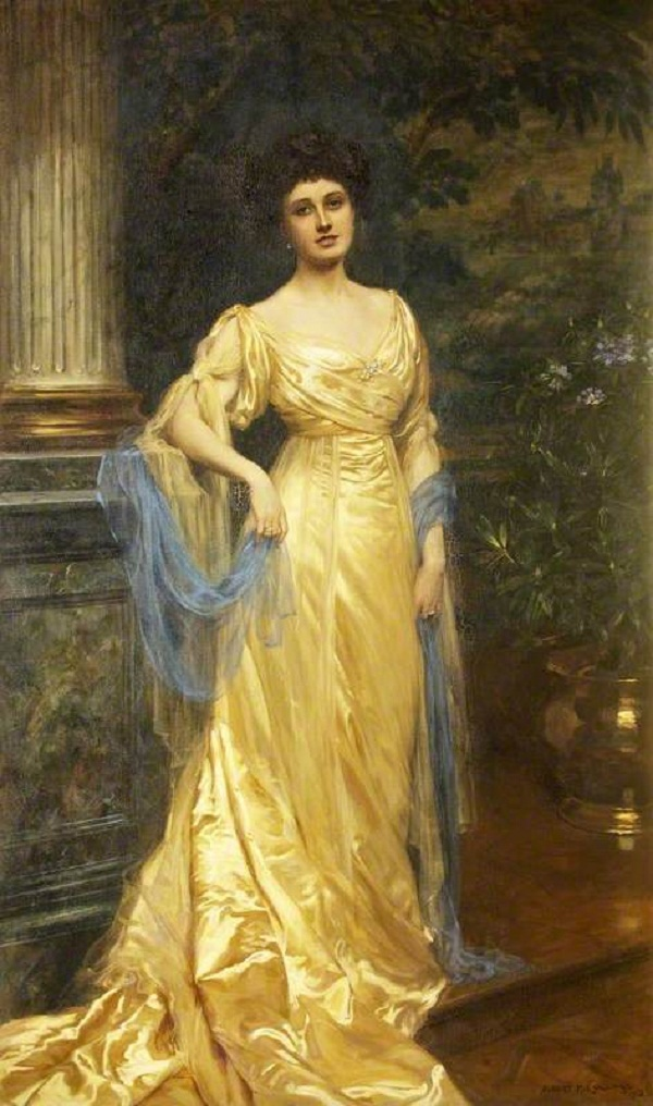 "The Honourable Victoria (""Via"") Florence de Burgh Long (1880-1920), Lady Gibbs"
