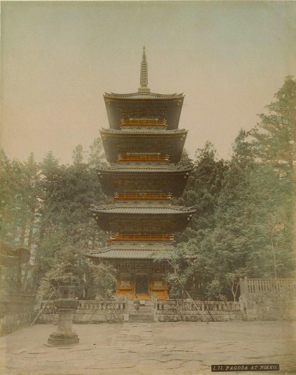Никко. Пагода