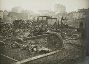 1915. Ноябрь. Разрушения на улице Толбьяк