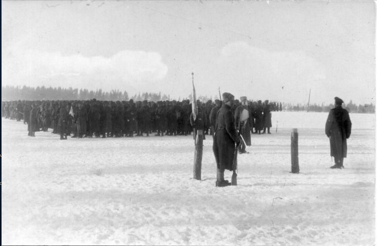 1915. Военное построение