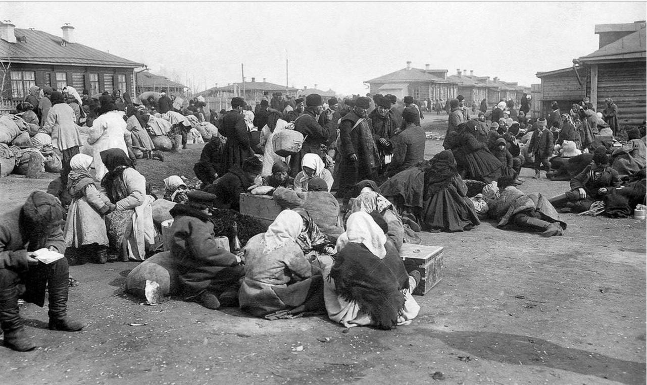 Семьи переселенцев