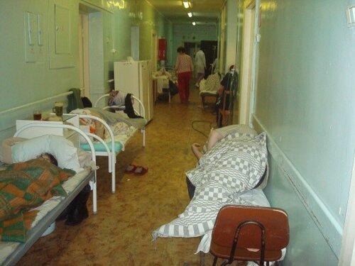 Увиденное в больнице Скорой помощи подвергло посетителей в шок