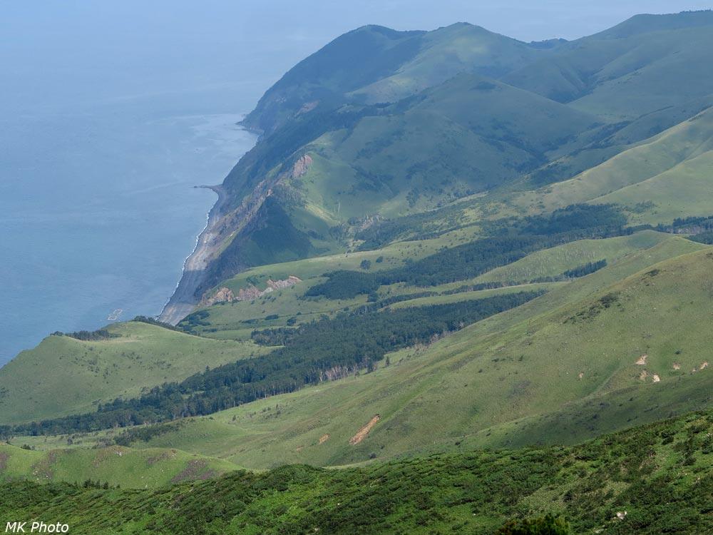 Побережье залива Анива
