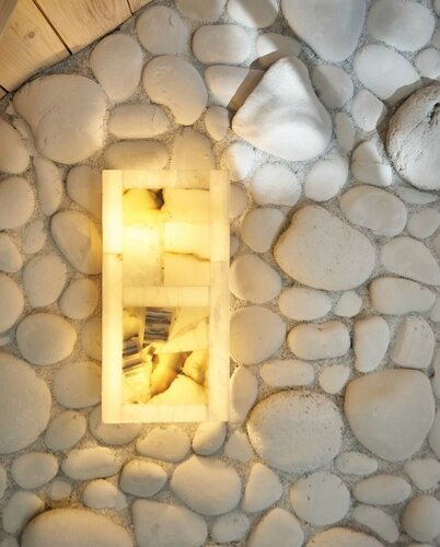 028 светильник из мрамора, натуральный камень