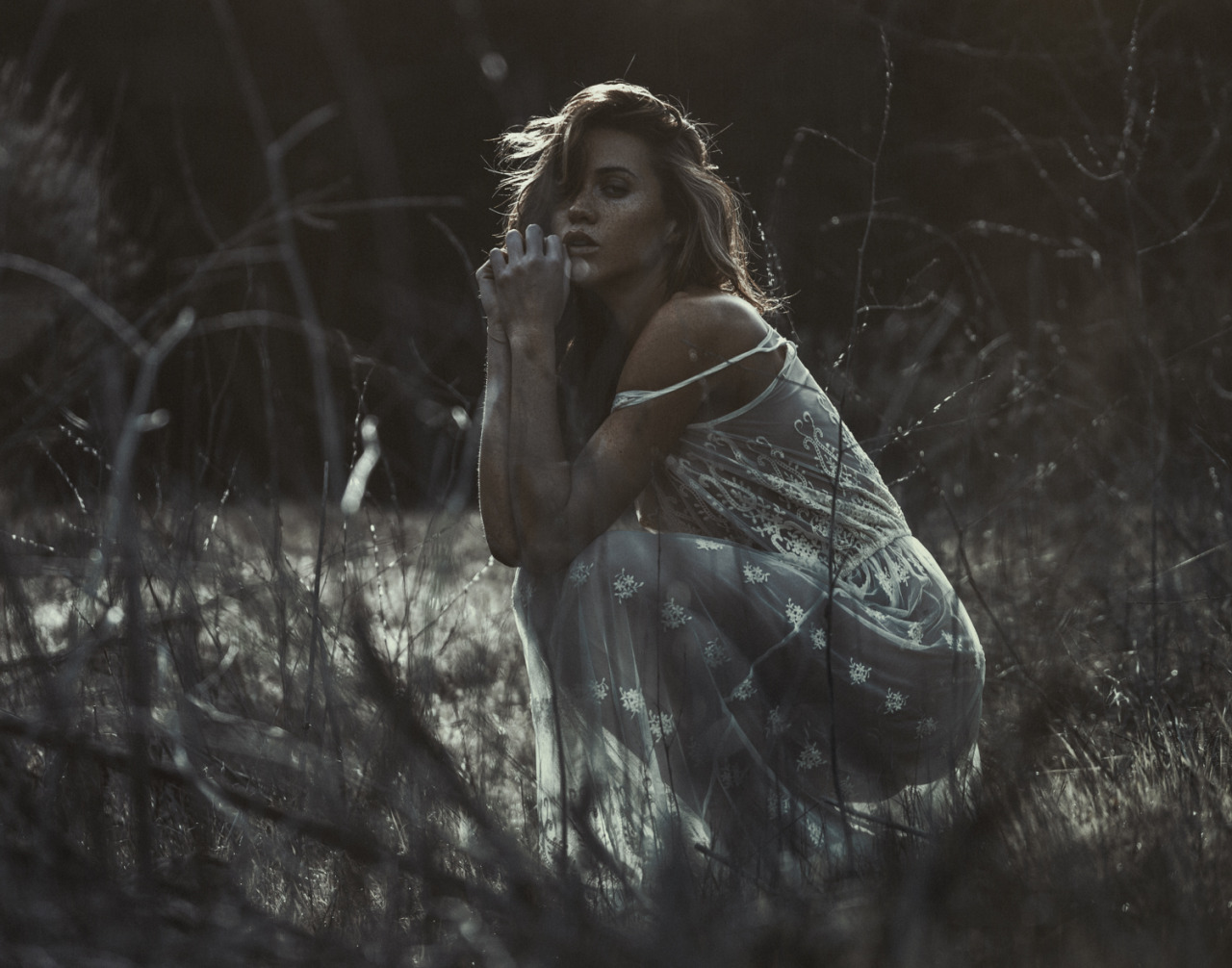 Красивая обнаженная девушка / Кеслер Тран - Kesler Tran