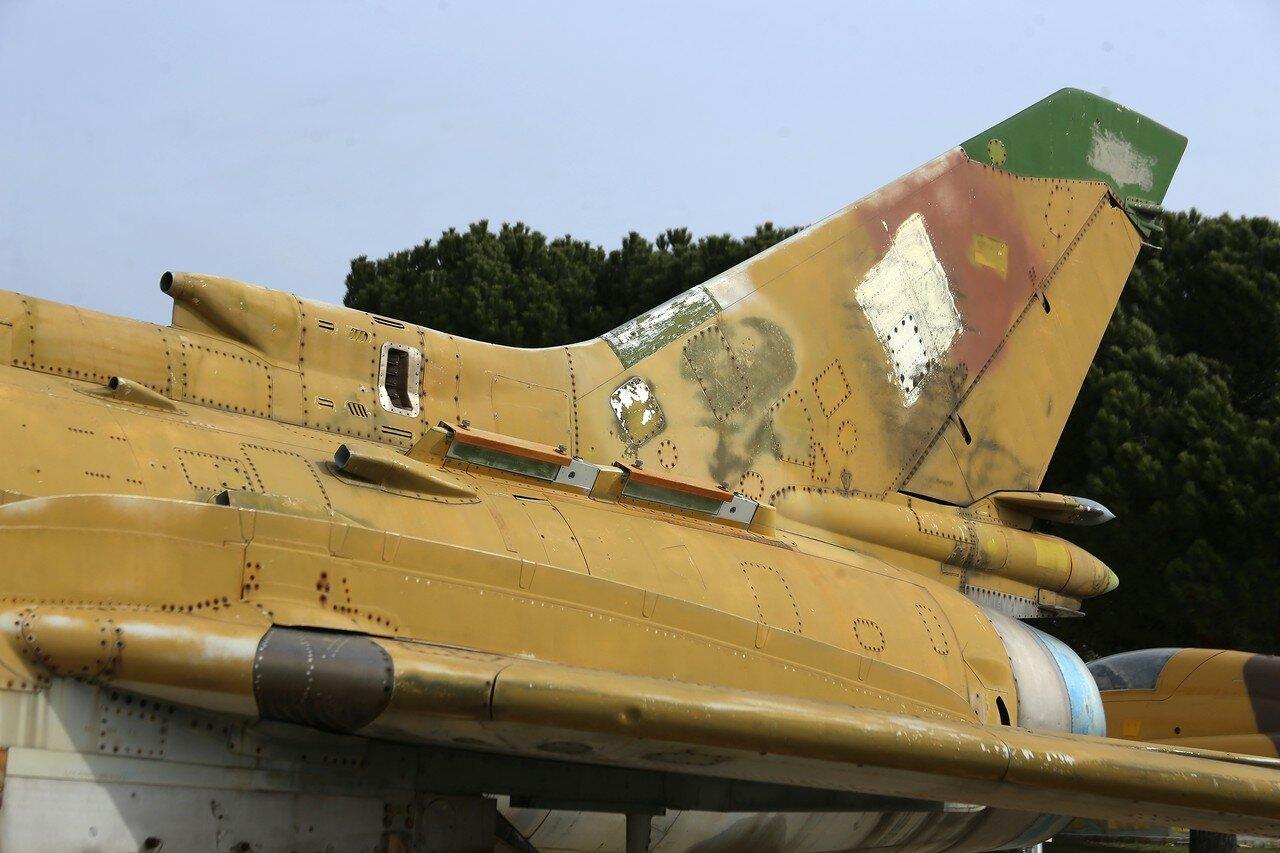 Sukhoi Su-22 fighter (Museo del Aire, Madrid)