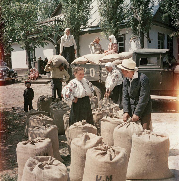 Украинское село, 1950.