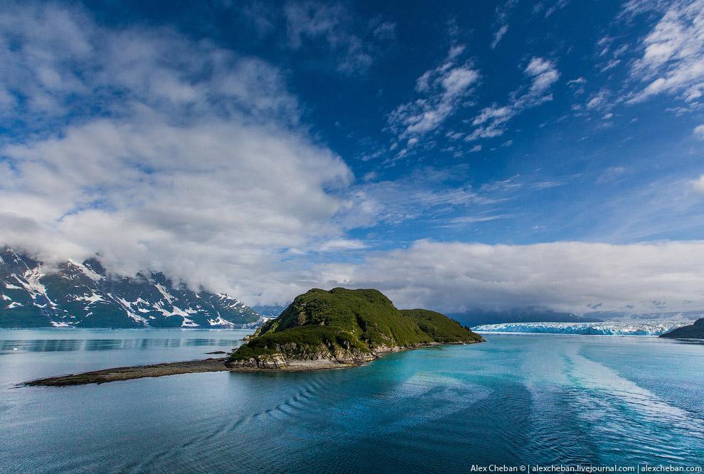 31. Это был ледник Хаббард на Аляске .