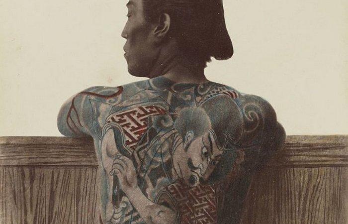 Принудительные татуировки в Японии. Япония Японцы в древние времена также использовали татуировку, к