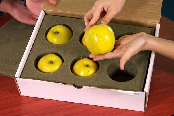 Яблоки Opal с удивительной способностью не темнеть на срезе.