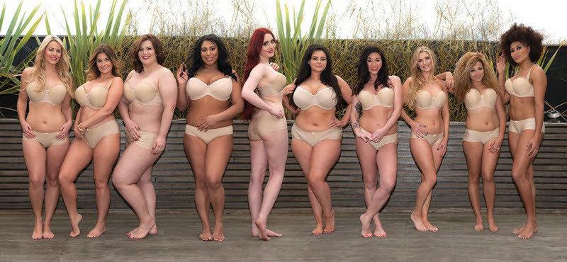 Но среди огромного множества бюстов британская компания Curvy Kate выбрала самый неотразимый — бюст