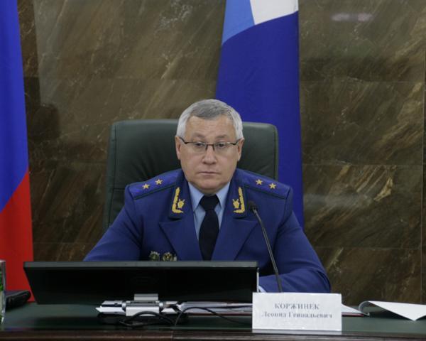Кандидатура обвинителя Кубани Коржинека предложена напост замгенпрокурора Российской Федерации