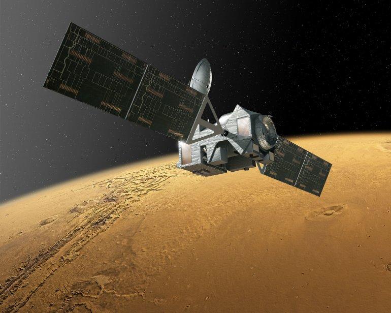 Ученые измерили температуру поверхности Марса
