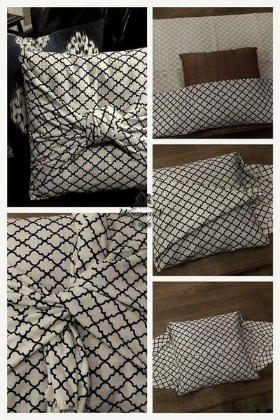 Шьем диванные декоративные подушки