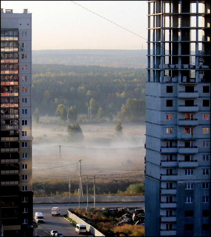 Челябинск 1828 Туман