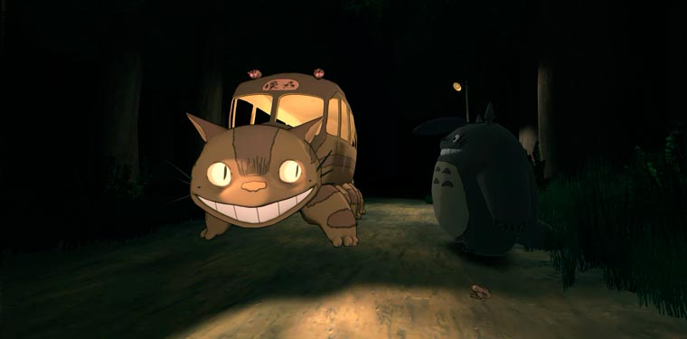 Ghibli VR - Dive into the universe of Miyazaki through virtual reality!