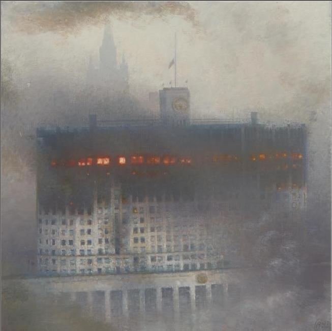 Москва в октябре 1993