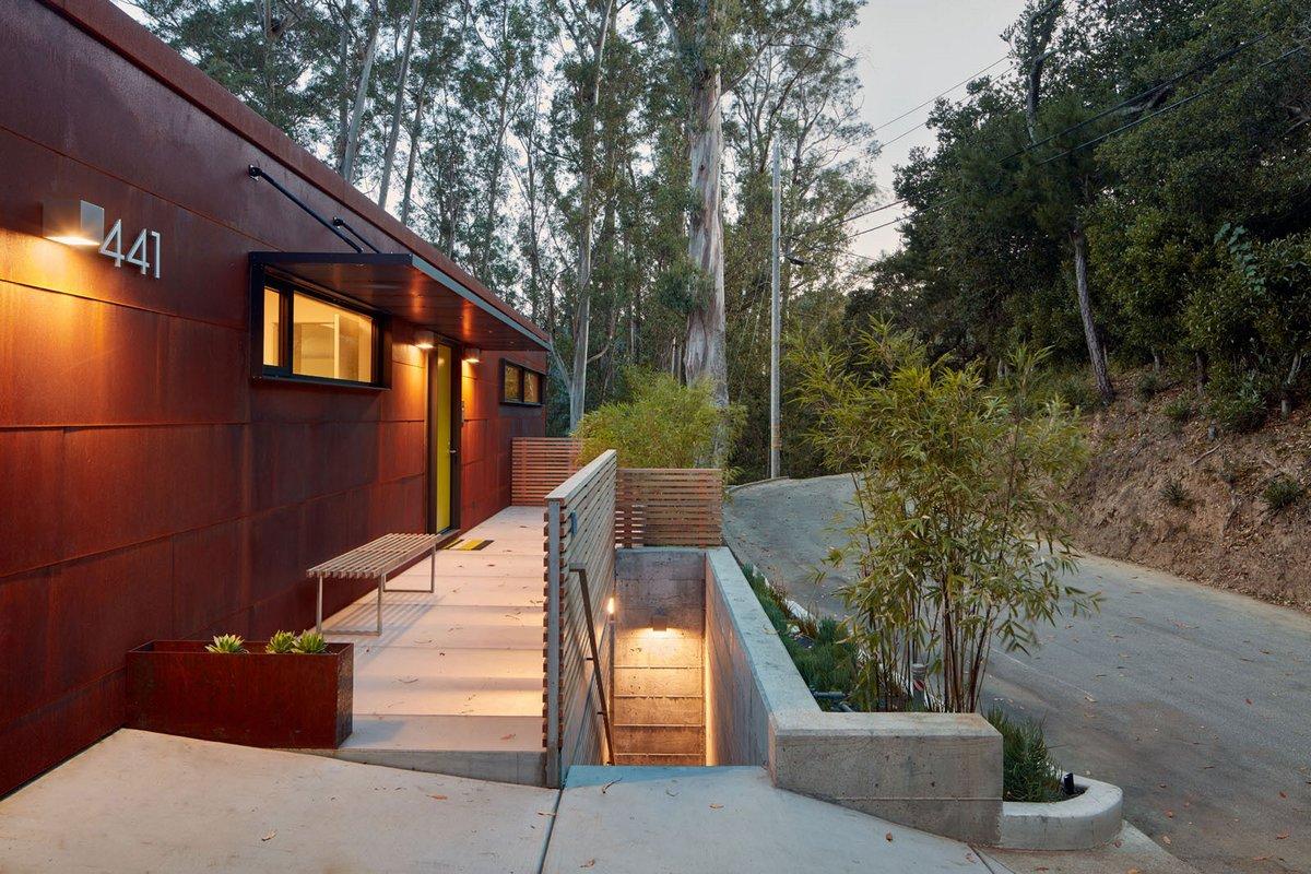 Дом с видом на долину в Калифорнии