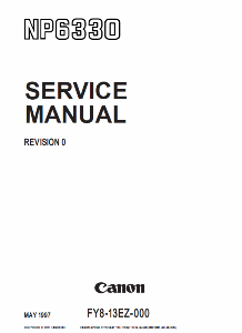 Инструкции (Service Manual, UM, PC) фирмы Canon - Страница 3 0_1b18b7_8c0422e7_orig