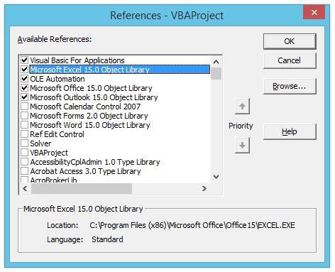 Управление Excel из других офисных программ пакета Microsoft Office