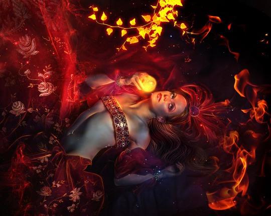 Hot Digital Art by Lu Lebel