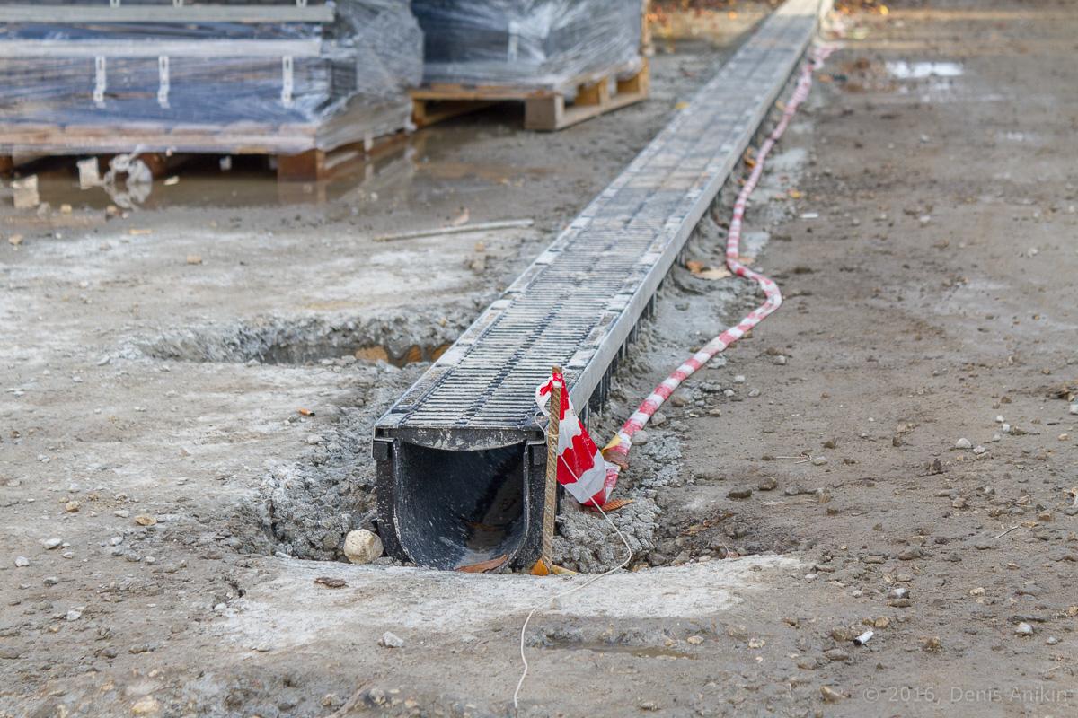 Строительство пешеходной зоны Саратов фото 9