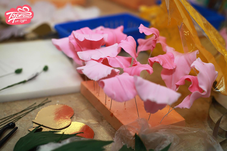 сахарные цветы