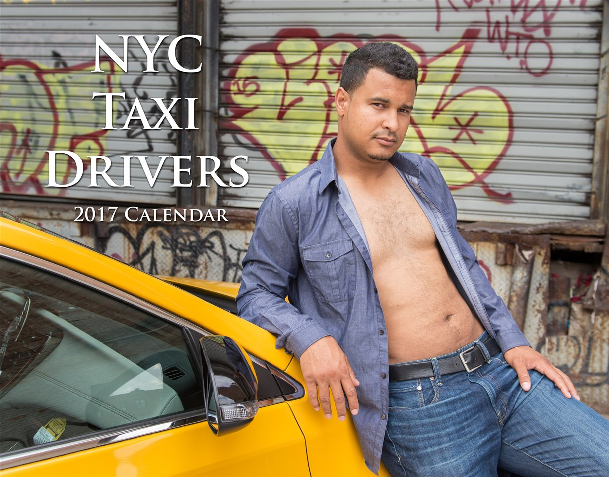 NYC Taxi Drivers calendar for 2017 - Luis
