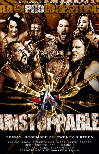 Post image of AAW Unstoppable 2016