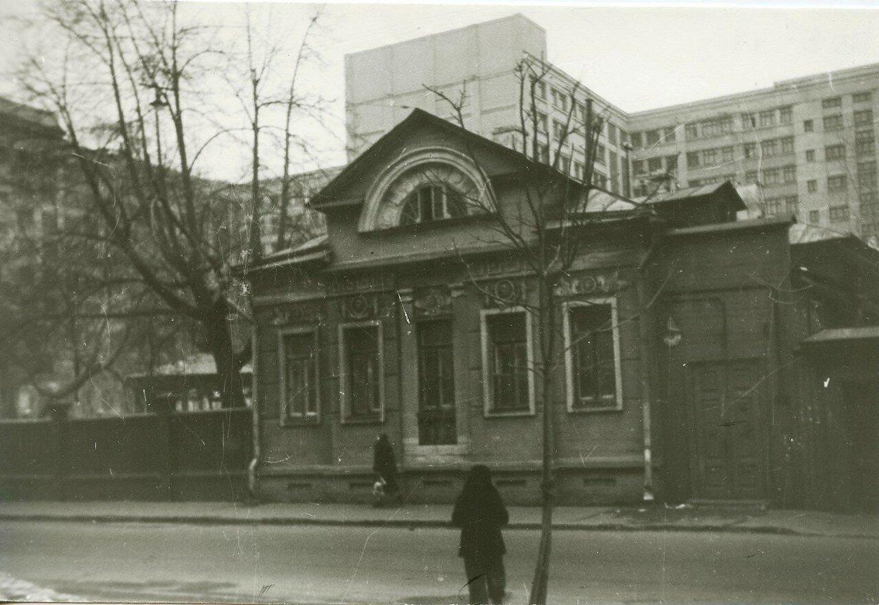 1960-е. Дом Г. А. Палибина