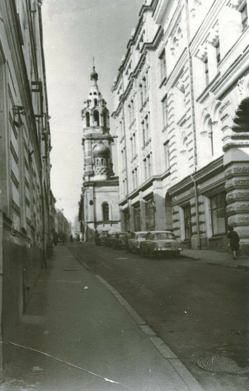 1960-е. Проезд Владимирова