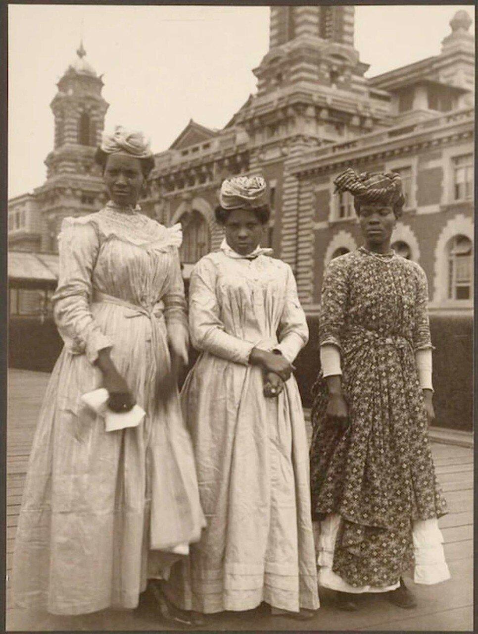 Три женщины из Гваделупы